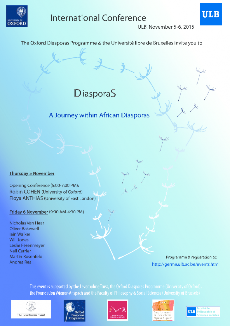 DiasporaS. A Journey within African Diasporas